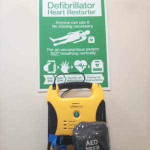 Introducing our Automated External Defibrillator (AED)